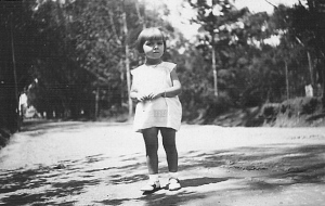 Jacqueline Cop enfant à Fianarantsoa