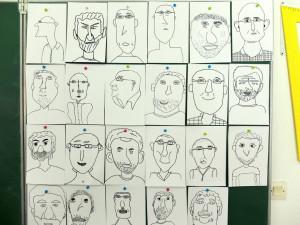 caricatures cm