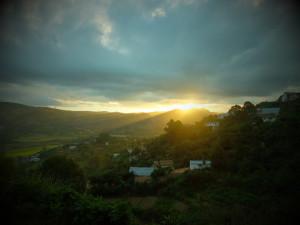 tombée de la nuit Fianarantsoa